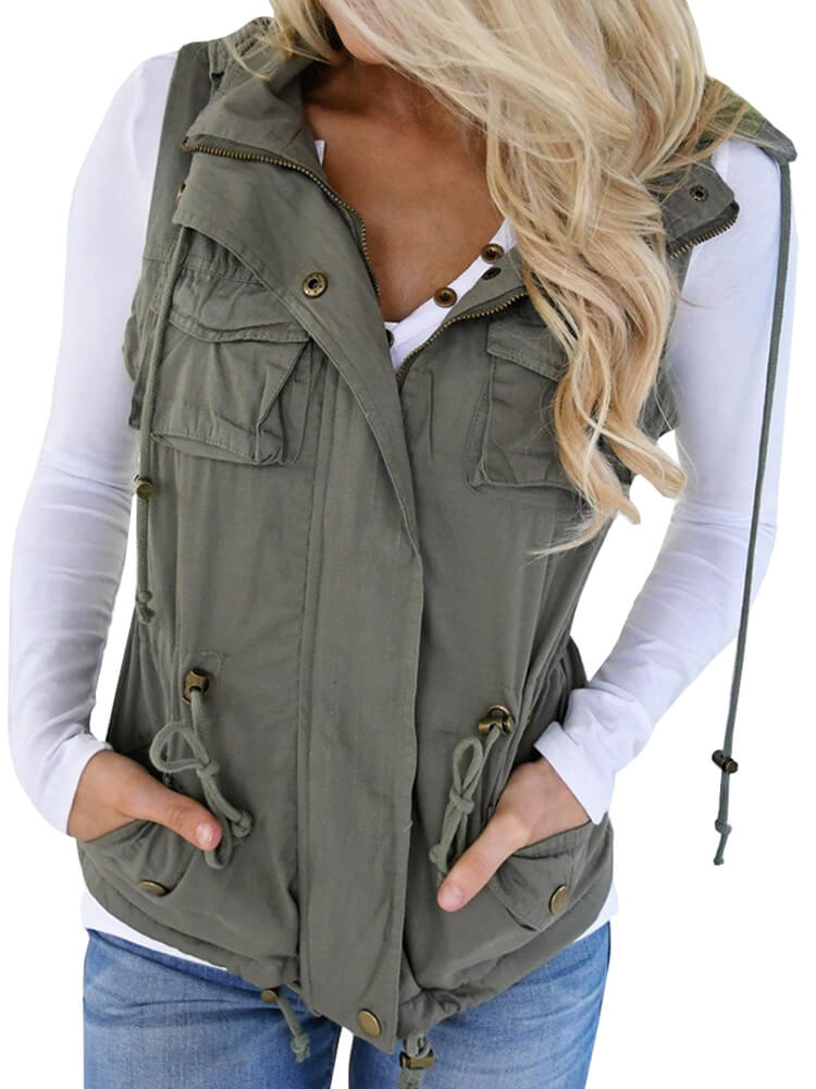Cotton-padded Vest