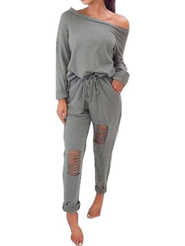 Escape Hollow-out Panel Jumpsuit