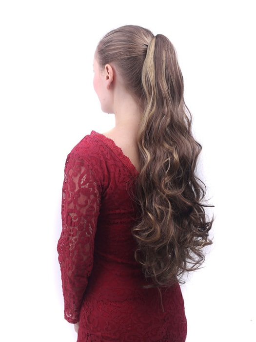Ultra Long Claw Clip Curly Ponytail Hair Extensions Whatsmode