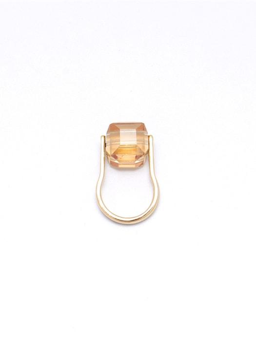 Chunky Crystal Studded Royal Vibe Ring