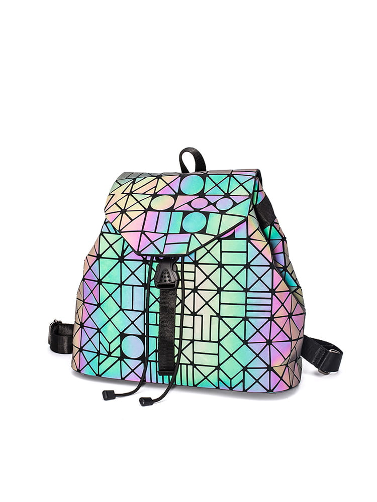 Luminous Hologram Backpack