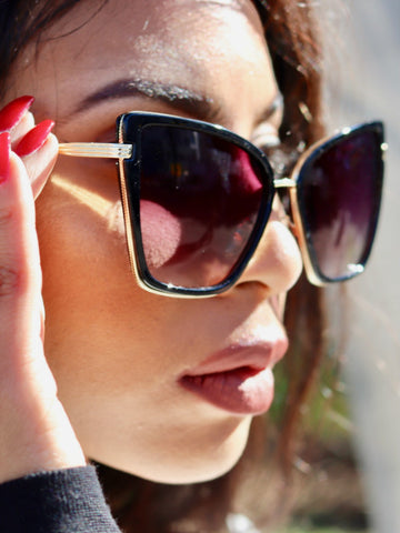 Chic Cat Eye Sunglasses