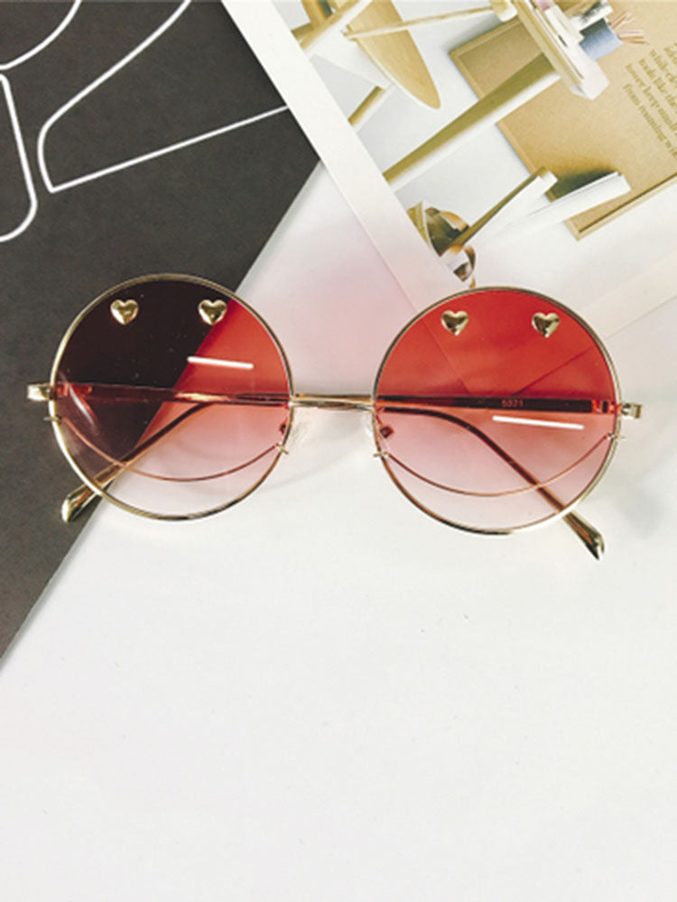 Chic Thin Framed Round Glasses