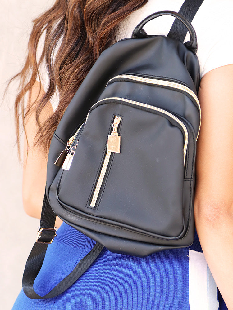 Back-to-school  Casual Square Backpack