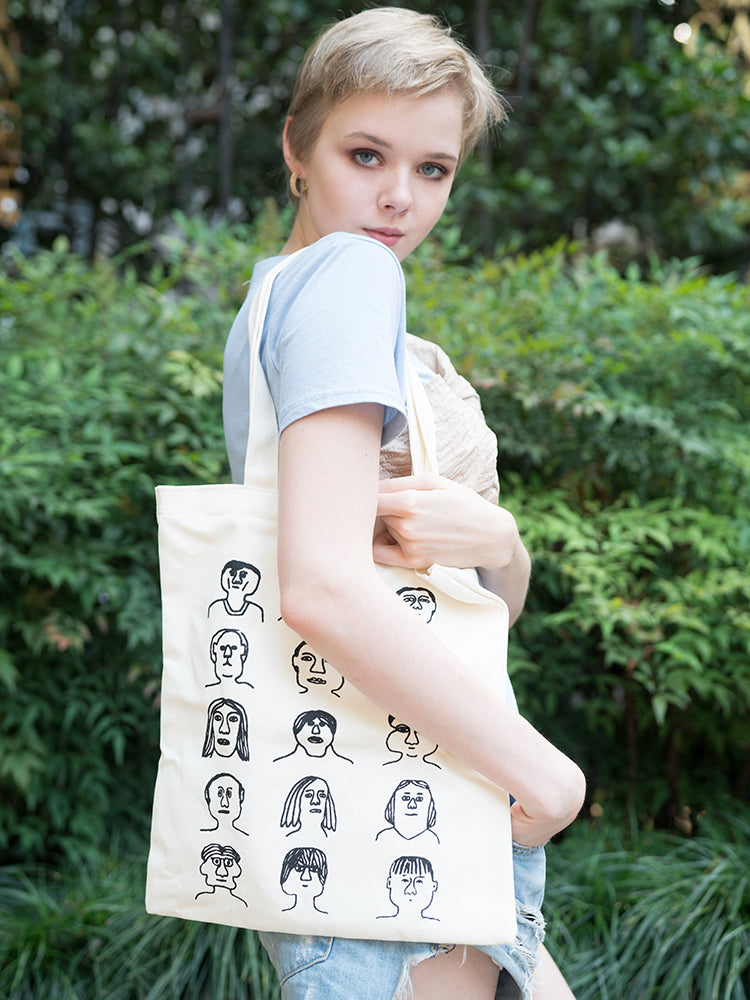 Girly Portraits Shoulder Bag