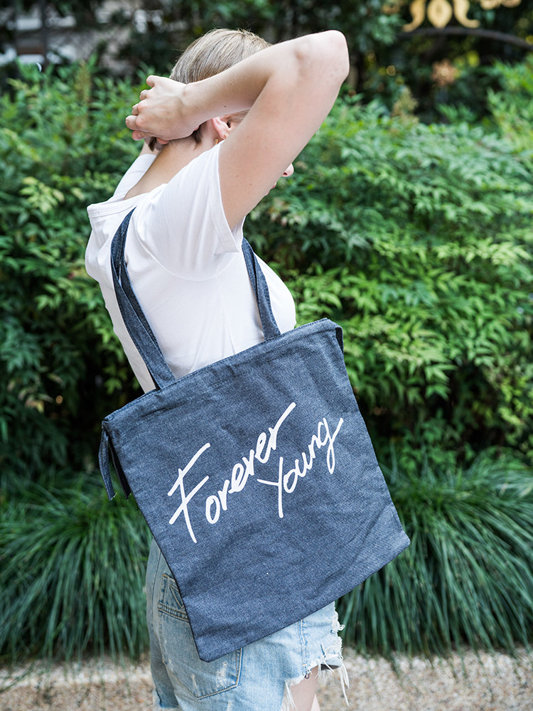 Forever Young Drawstring Shoulder bag
