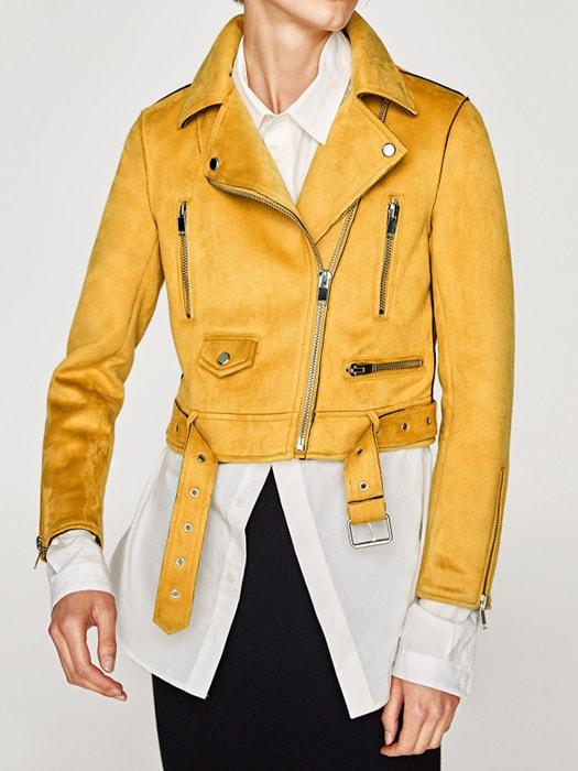 Chammy Short Biker Jacket