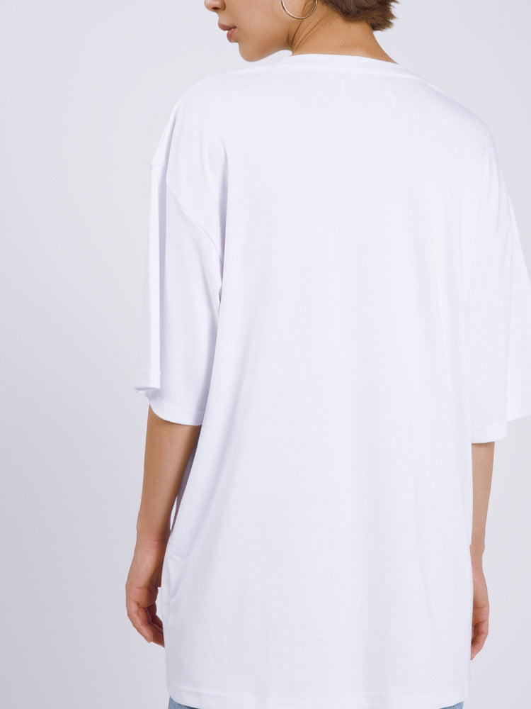 Hip-hop Printed Oversized T-shirt
