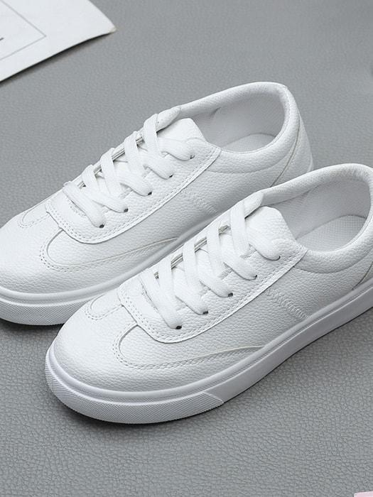 Multi-color Lining Running White Sneakers - White / 5.5 4582