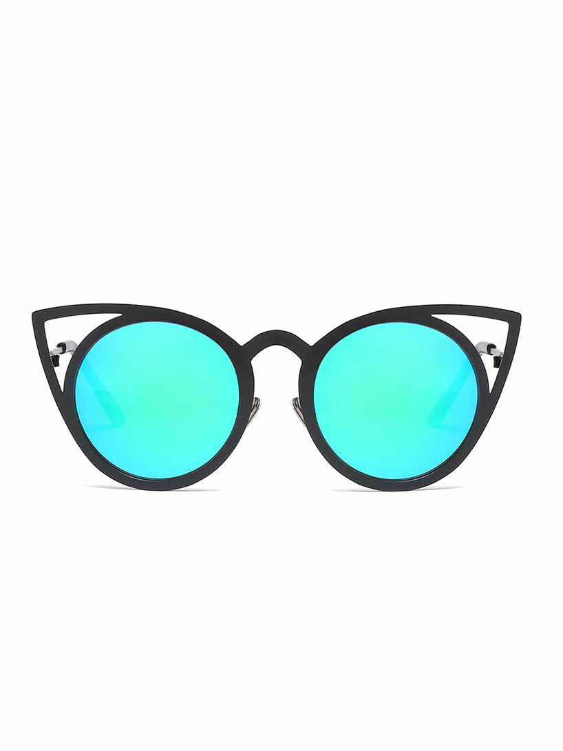 Fashion Cat Eye Color Sunglasses