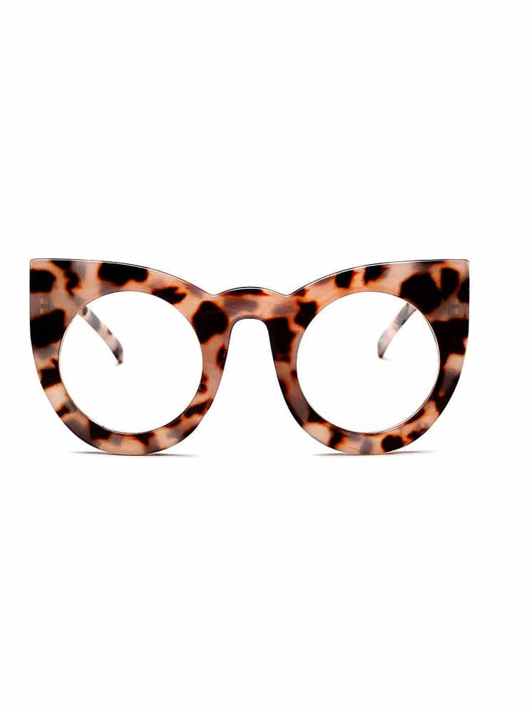 Cool Cat Eye Oversized Sunglasses