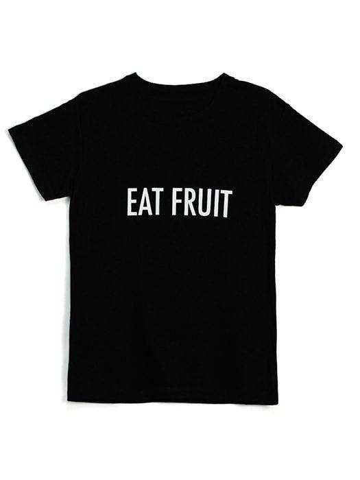 Eat Fruit - Black Top