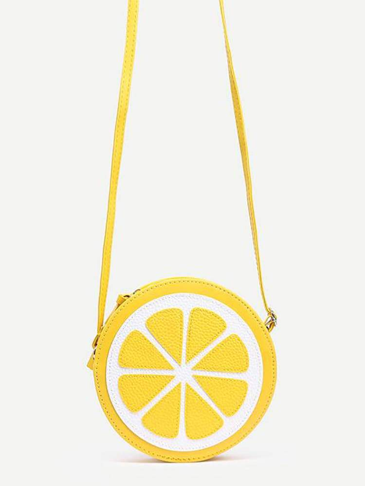 Fresh Summer Mini Orange Crossbody Bag