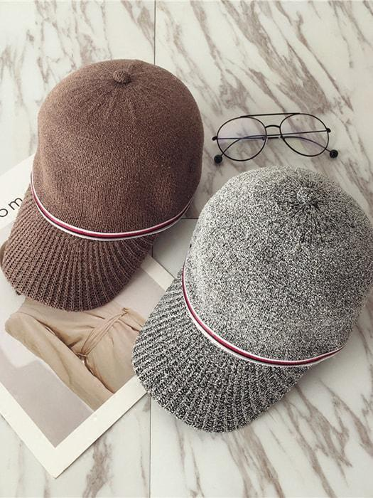 Chic Lined Knit Cap