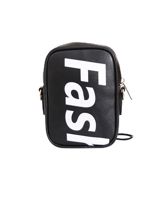 Mini British Classical Letter Script Cross Body Bag