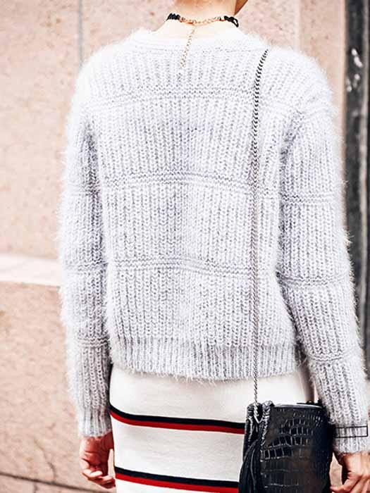 Loose Knit Top Sweater Chester