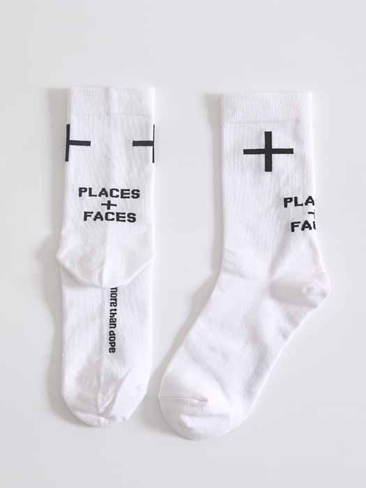 Simple Cross Design Socks