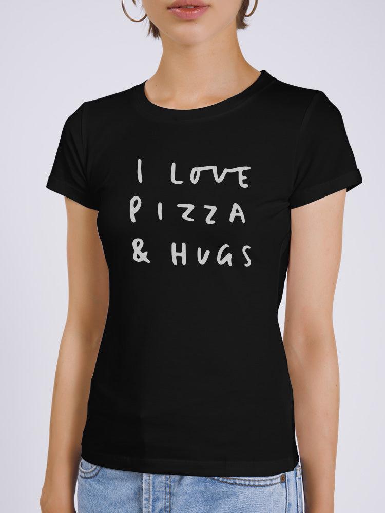 I Love Pizza Fun T-shirt