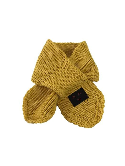 Smiley Face Warm Knit Scarf