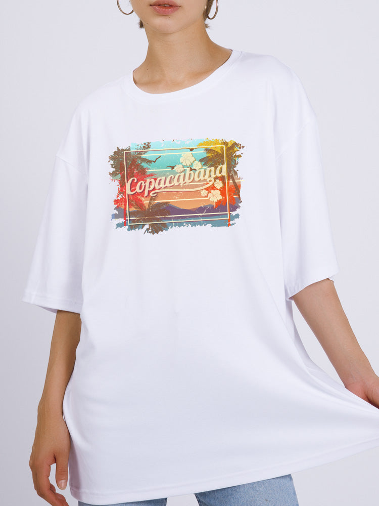 Relaxed Escape Printed T-shirt