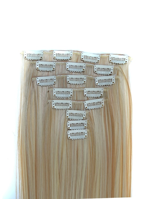 Full head 8 pcs set of straight long hair extensions whatsmode full head 8 pcs set of straight long hair extensions pmusecretfo Images