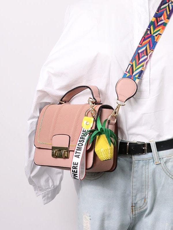 Pineapple Pendent Shoulder Bags