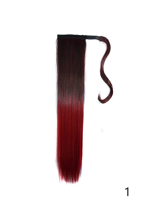 Colored tip ombre ponytail hair extensions whatsmode colored tip ombre ponytail hair extensions pmusecretfo Gallery