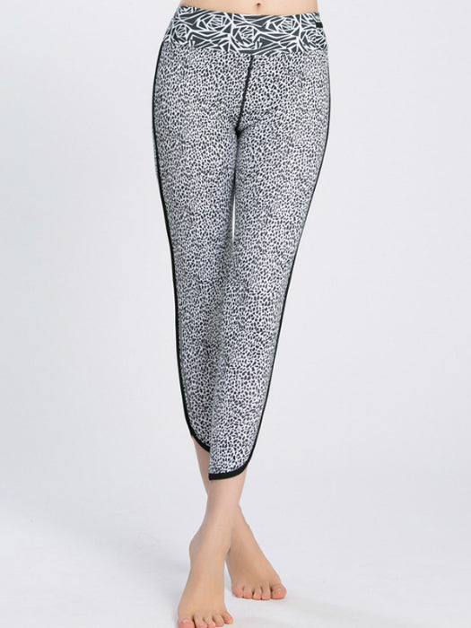 Leopard Sports Yoga Leggings