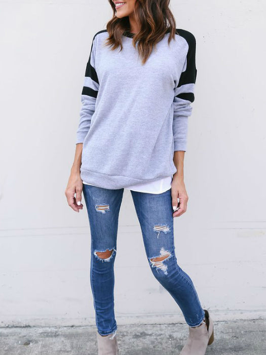 Casual And Cozy Cotton Sweatshirt