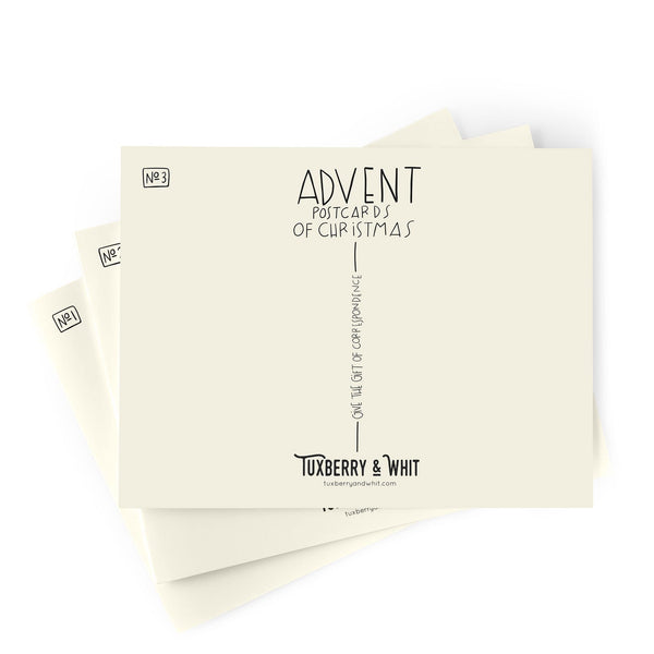 25 Advent Postcard Set
