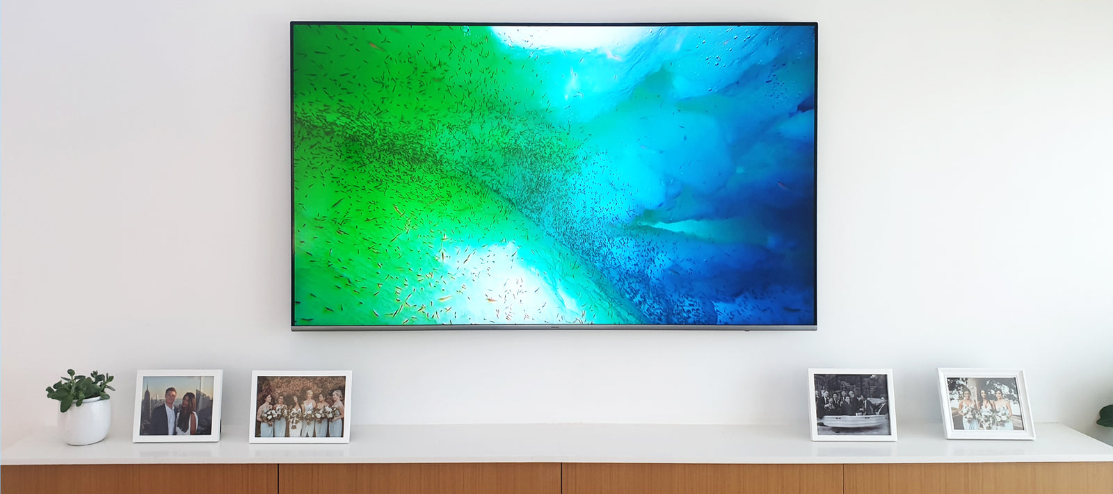 How To Wall Mount A Tv Without Cables Showing Intelligent Home Technology Centre