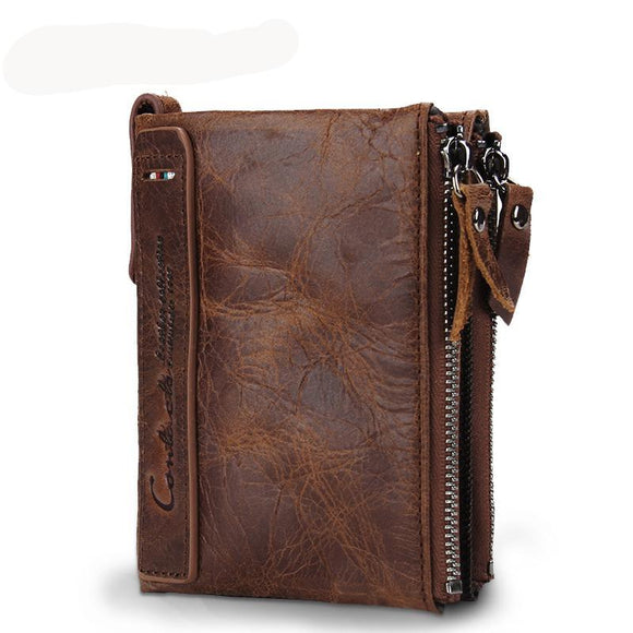Men's Cowhide Leather Wallet