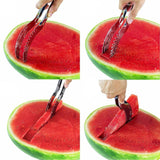Stainless Steel Watermelon Slicer & Double Size Scoop