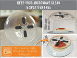Microwave Splatter Guard Cover