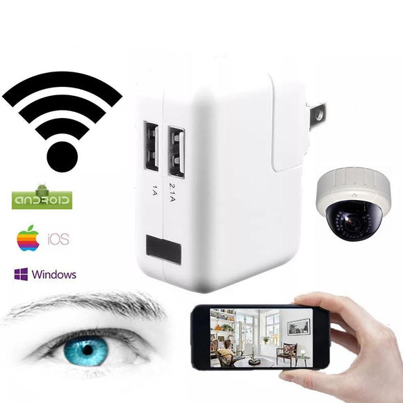 USB Charger/Wireless 1080P Remote Surveillance Camera