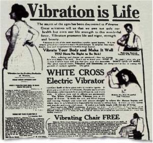 vibration is life paper illustration