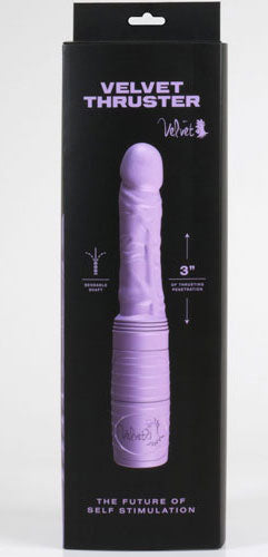 Velvet thruster silicone sex toy