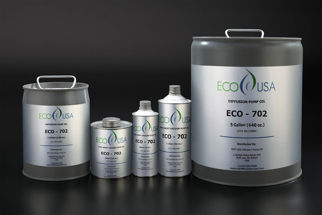 ECO-702 Silicone Diffusion Pump Oil