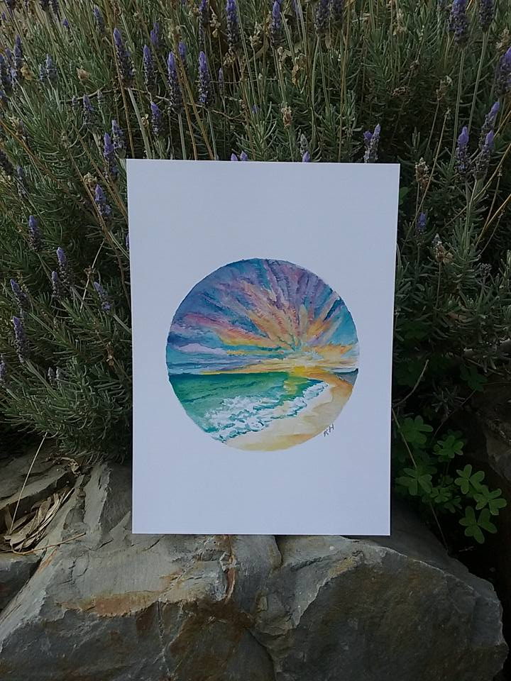 Sunset Beach - Print