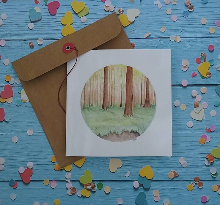 Enchanted Forest - Card