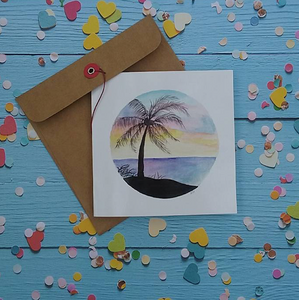 Tropical Paradise - Card