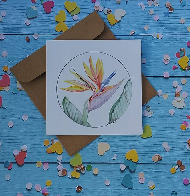 Bird of Paradise - Card