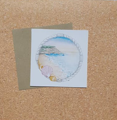 Shells by the Shore - Card