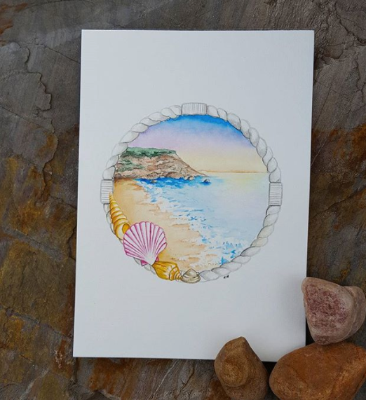 Shells by the Shore - Print