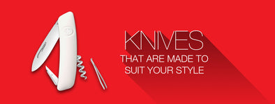 SWISS KNIVES THAT ARE MADE FOR WHO YOU ARE!