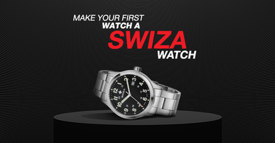 Your first Swiss watch. Why should it be from Swiza?
