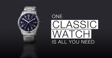 One classic watch is all you really need