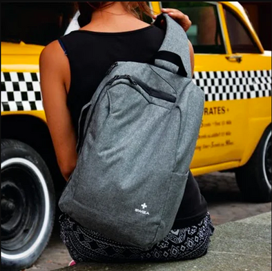 Looks like a sling bag, feels like a backpack! Our one sided backpack will take your business style up a notch!