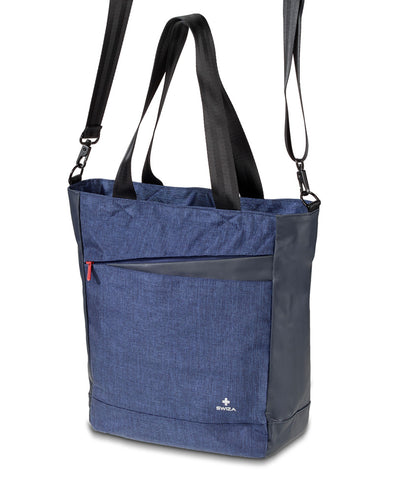 IRIS, Laptop Tote, blue - Swiza