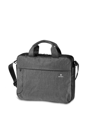 GEMINO, Briefcase, anthracite - Swiza